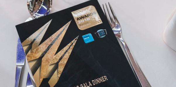 Регистрирайте се за гала вечерята по време на церемонията за награждаване на FESPA