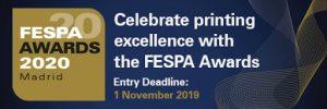 Fespa Awards 2020 регистрации