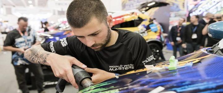 Ivan Tenchev takes World Wrap Masters 2018 title at FESPA Global Print Expo 2018